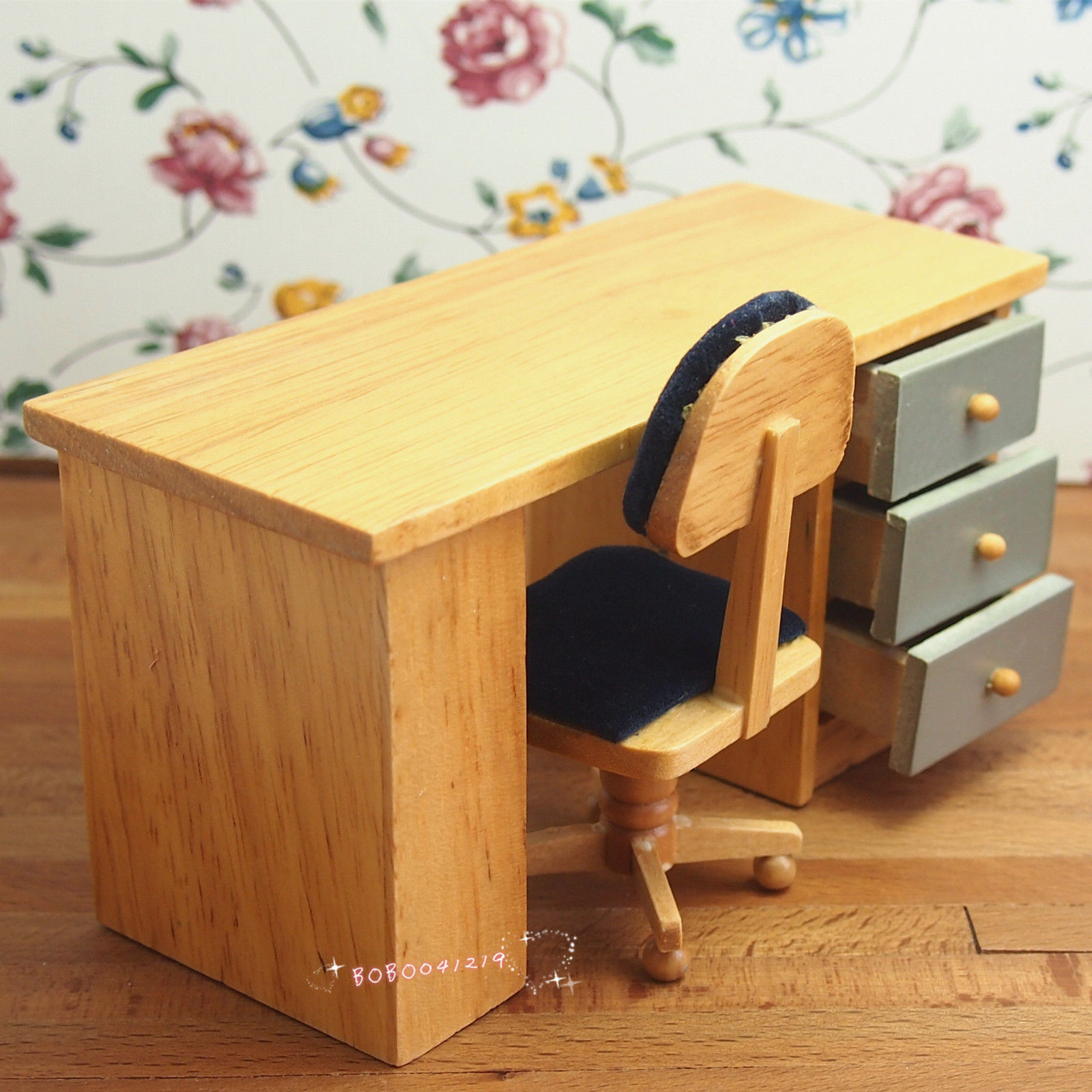 Wooden Study Room: Aliexpress.com : Buy Dollhouse Miniature 1:12 Toy Study