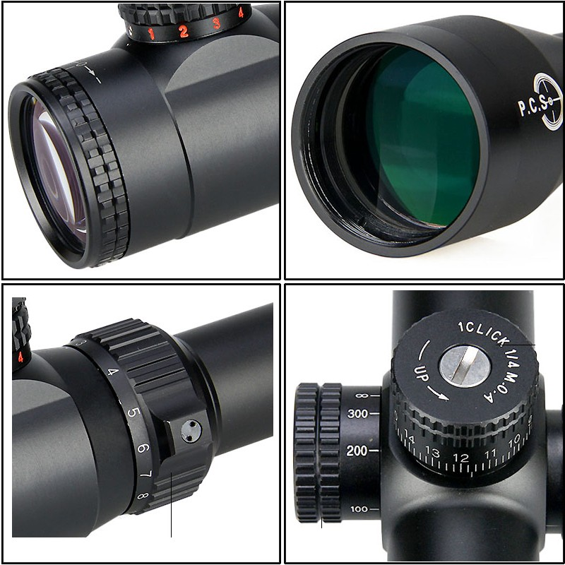 TM4.5-18x40 tactical night vision riflescope with rangefinder for hunting HK1-0287