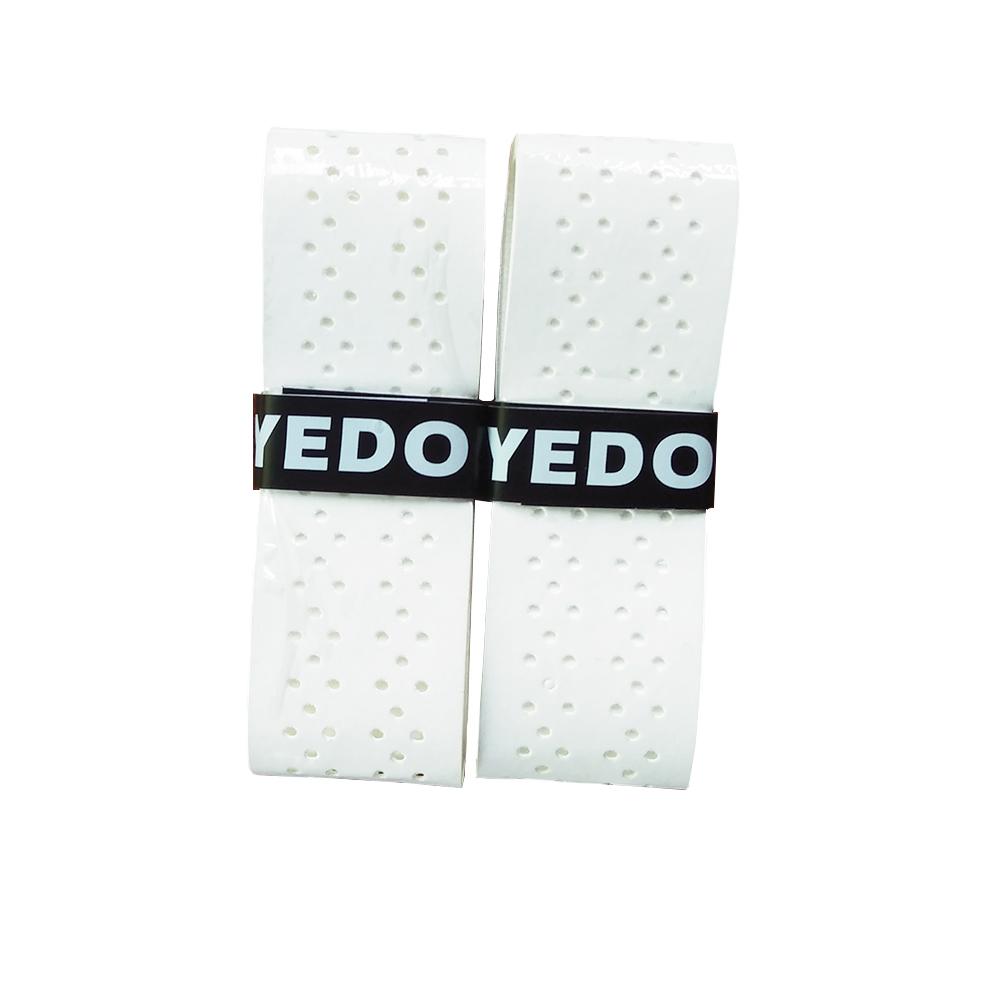YEDO липкие накладки толщиной 0,6 мм, теннисная ракетка Overgrip, перфорированные белые накладки