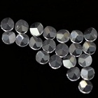 India Factory Price Three Facets Top Flat Bottom 1.75mm Cubic Zirconia Stones
