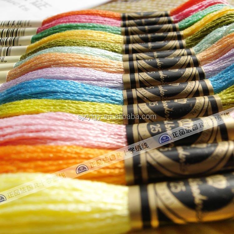 R нить для вышивки крестом 447 цветов 8 м