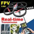 WLToys V666 5 8G FPV 4CH RC Air Plane Real Time Camera And Monitor RTF VS