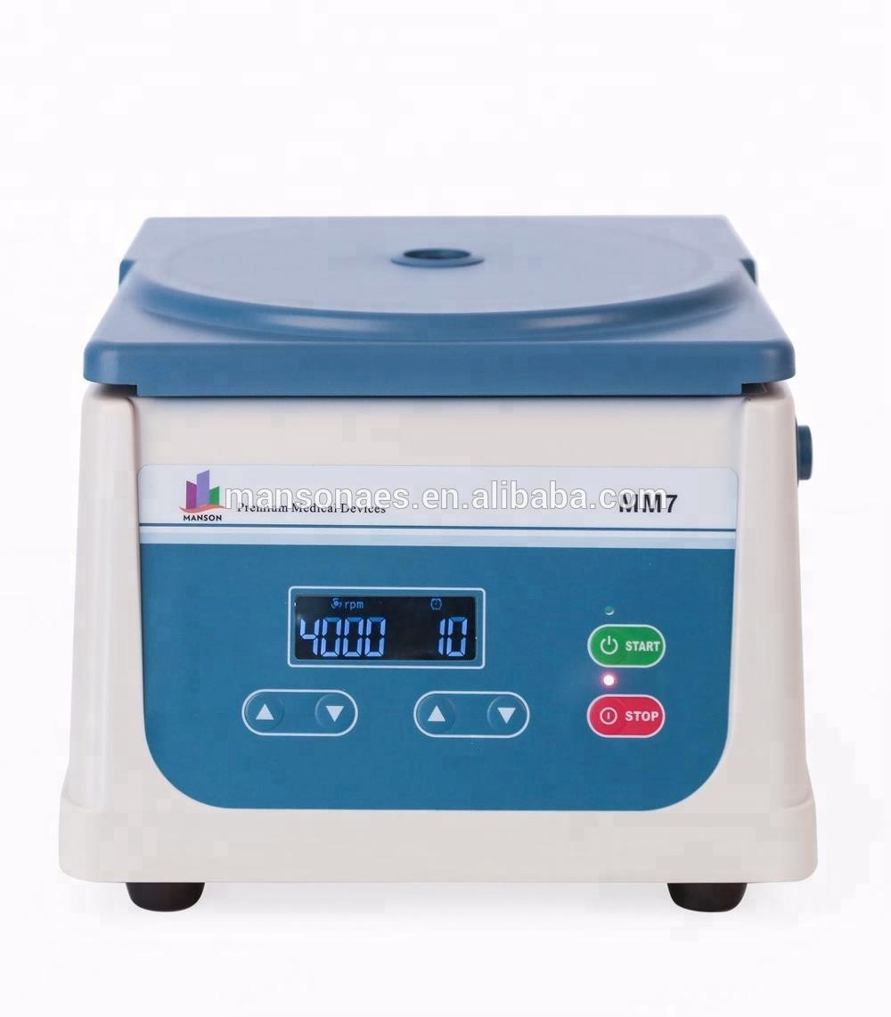 ISO13485 CE Certificate Centrifuge for Blood Separation Both PRP Therapy and Fat Transplant