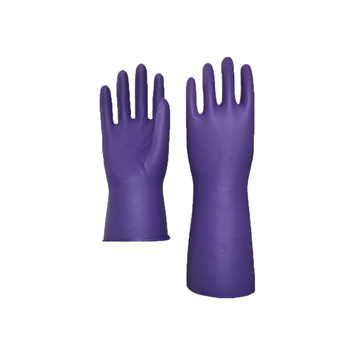 YJ -02 Purple Nitrile Gloves In Food Industrial Gloves