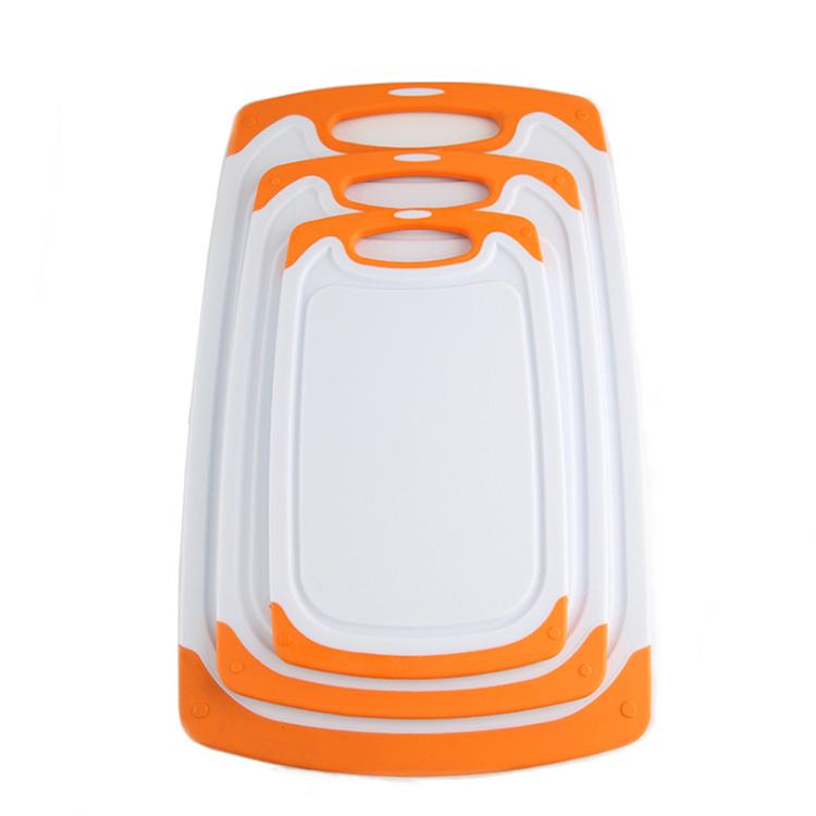 Реверсивная разделочная доска, набор из 3 предметов, кухонные инструменты, не содержит бисфенола А, легко держать в руке, можно мыть в посудомоечной машине, непористые доски