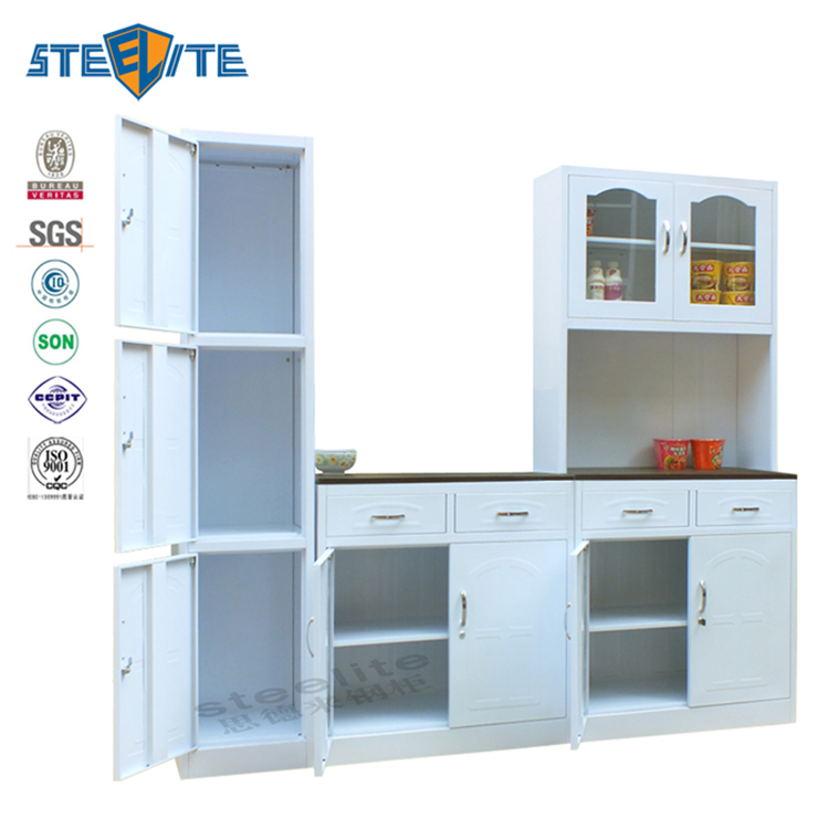 Steel Frame Kitchen Cabinets: China Factory Stainless Steel Diy Kitchen Cabinet Aluminum