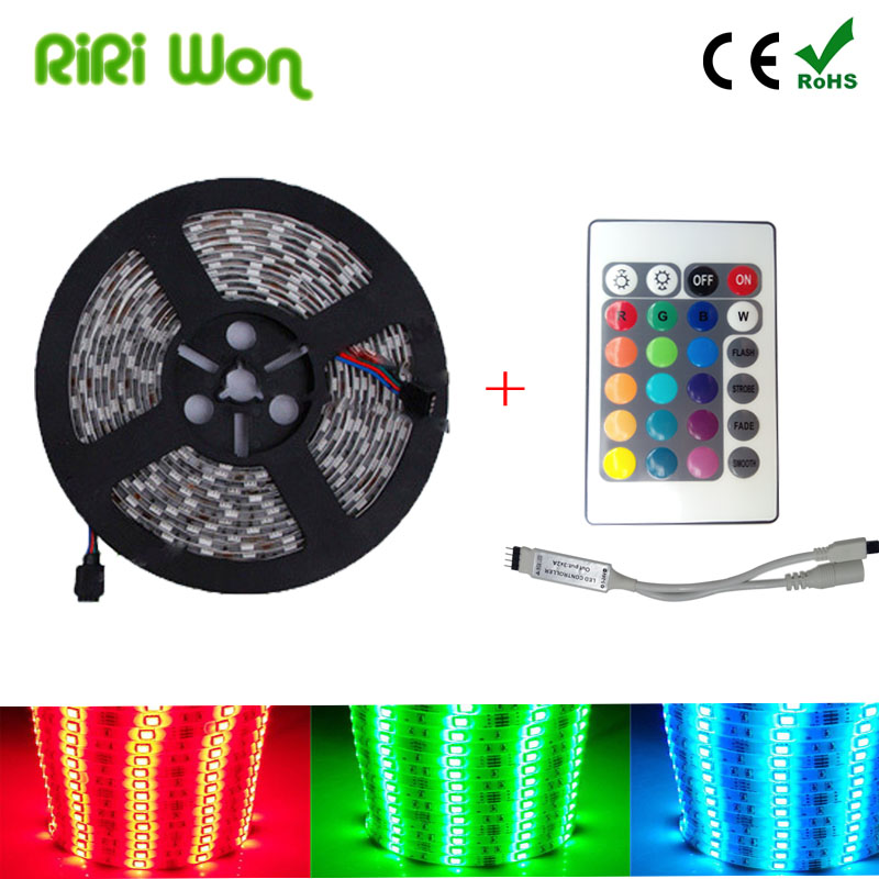 5m 10m 2835 Rgb Led Strip Flexible 5050 Waterproof Led