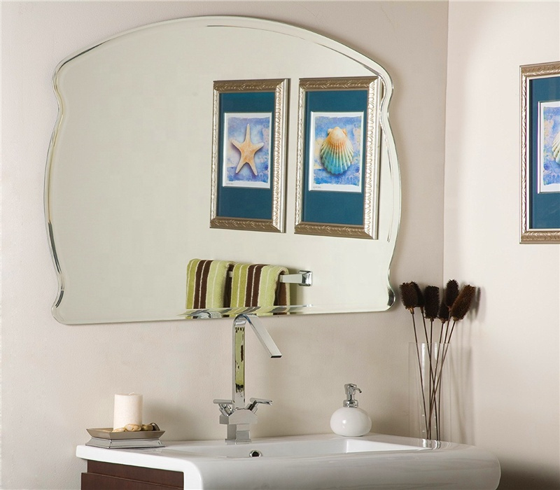 Frameless Beveled Bathroom Mirror Wholesale Buy Funky Bathroom Mirrors 8x10 Beveled Mirror Infinity Mirror Wall Mirror Cheap Frameless Mirror Product On Alibaba Com