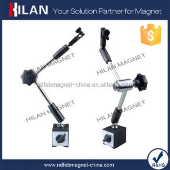 Master YW-6CU Hydraulic Tight Magnetic Base, 60kg Holding Force, Fine Adjusting Universal Arm Magnetic Dial Indicator Holder