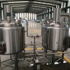 Home Beer Brewing Equipment 100l 2body-three Vessel 100L 200L 300L Home Beer Brewing Equipment