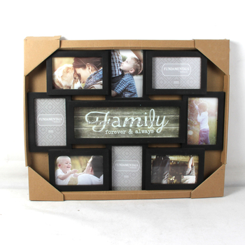 promotion wall hanging collage photo frame for family