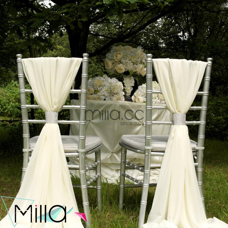 Высшее качество, оптовая продажа, горячая Распродажа, шифоновый стул для свадьбы, с поясом и капюшоном