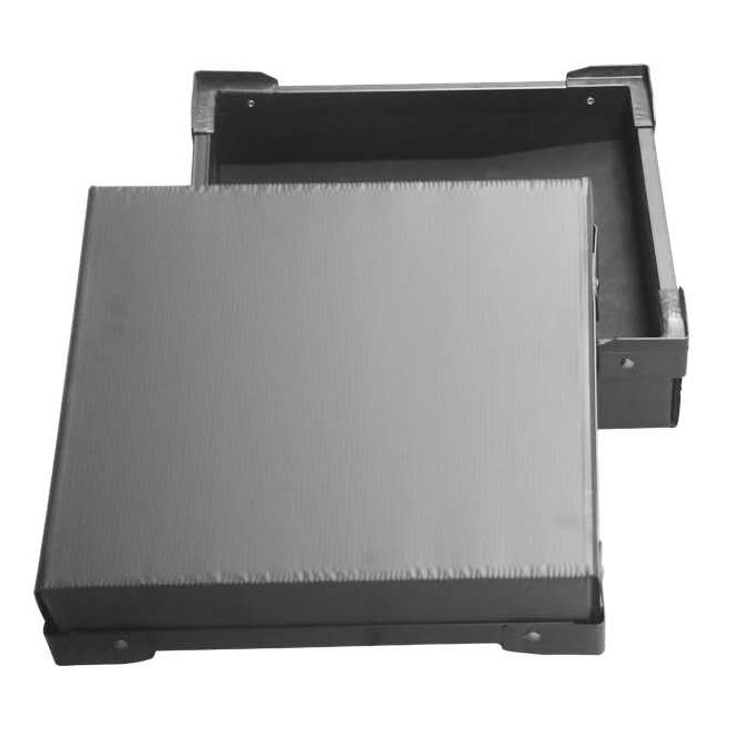 YF 4mm 5mm black anti-static pp plate plastic polypropylene corrugated hollow sheet for packing