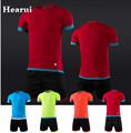 High end Custom Blank Kids Soccer Jerseys 2016 2017 New Season Men Survetement Football Shirt Sets