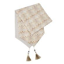 Topfinel градиент современные волнистые бегуны для стола ткань хлопок с кисточками украшение для столовой для свадебной вечеринки коричневый ...(Китай)