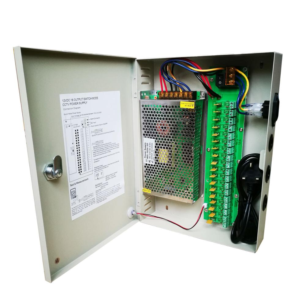 Professional factory AC 100-24V DC 12V power supply box mini size security switching power supply
