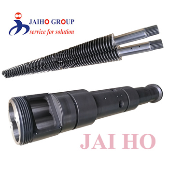 extrusion machine screw cylinder/twin screw and barrel/conical twin screw barrels