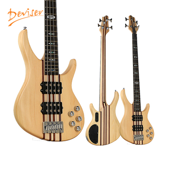 Factory wholesale musical instruments cheapest oem electric bass guitar