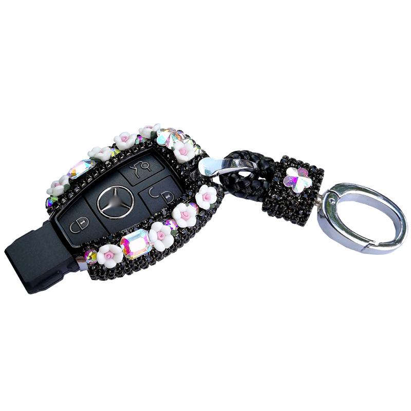 2019 New Diamond-encrusted car key , Foreign trade Benz car key, wholesaler of car key