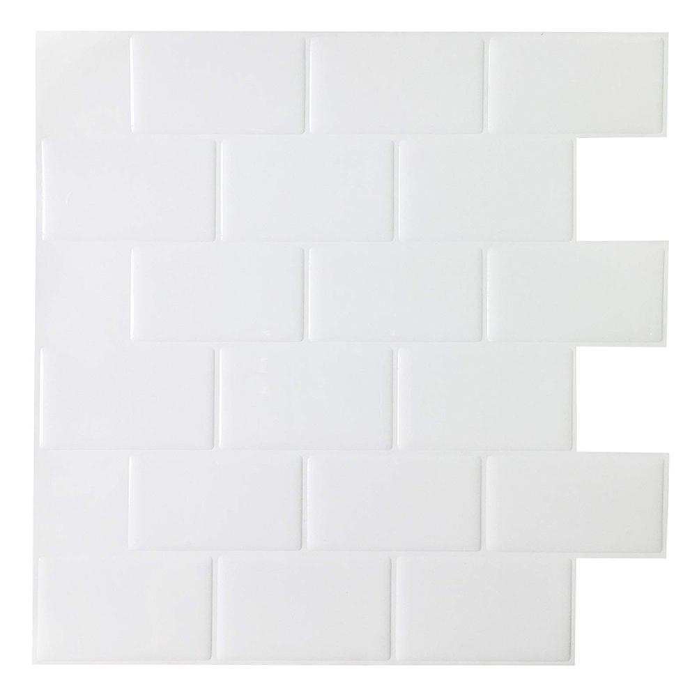 Modern Kitchen Wall Sticker Tiles Peel ...