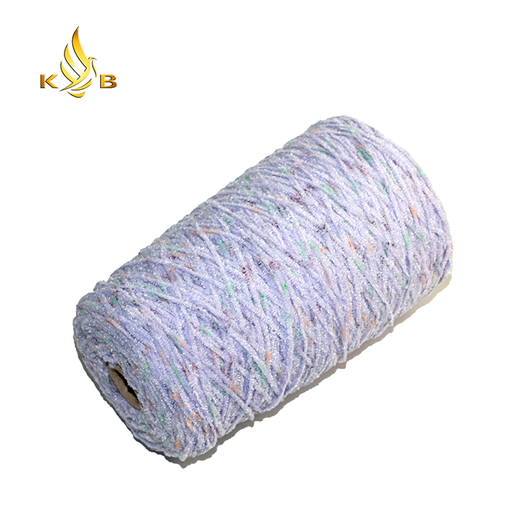 Hot sale dyed DTY Polyester/Acrylic blended chenille yarn for knitting
