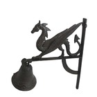Family Iron Decoration Cast Iron Handicraft Dragon Head Doorbell Used For Family Decoration