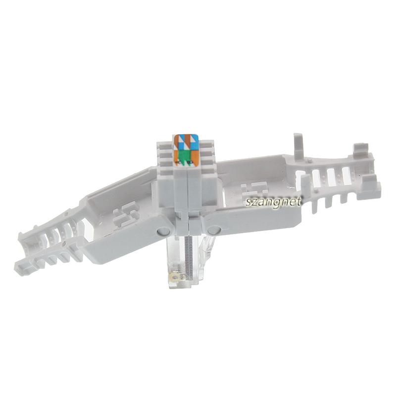 Без инструментов 8p8c Cat.6 разъемов UTP RJ45, модульный разъем Cat 6  Безинструментальный 8p8c cat.6 разъемы utp rj45 инструмент уменьшенного использования пластин кошка 6 модульный разъем