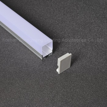 WOW! 20mm*27mm Anodized surfaceT5 LED u shape extruded aluminum track channel for aluminum led strip