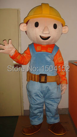 Bob The Builder Adult Costume 76