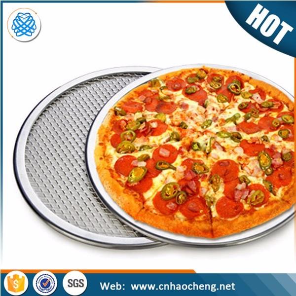 Аксессуары для выпечки, инструменты для приготовления пиццы, сетчатый алюминиевый экран для приготовления пиццы