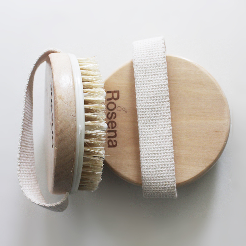 100% Natural Bamboo wholesale massage shower body brush