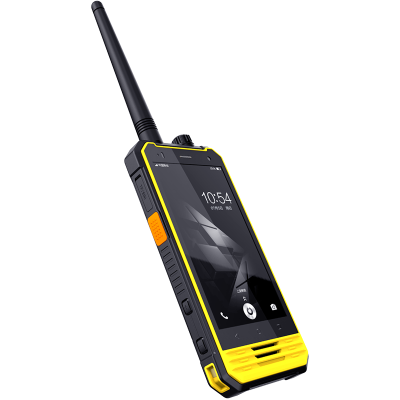 Two way radio walkie talkie GPS security guard tour equipment system