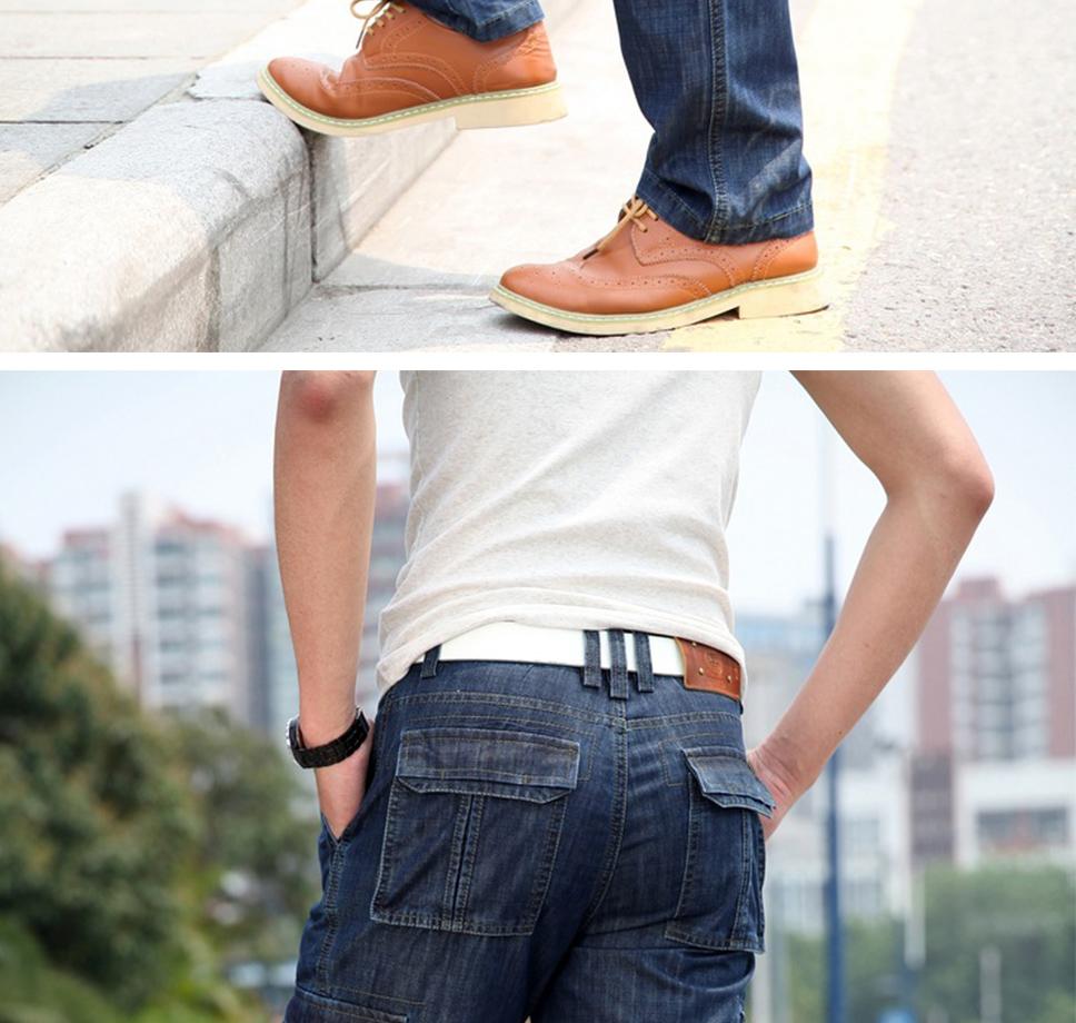 f889ff500b Pantalones Vaqueros Rectos Para Hombre