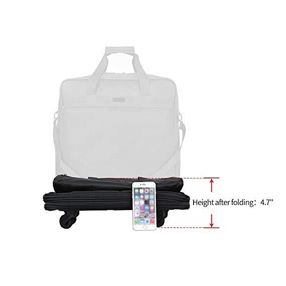 Расширяемая складная сумка для багажа, дорожная сумка для мужчин и женщин