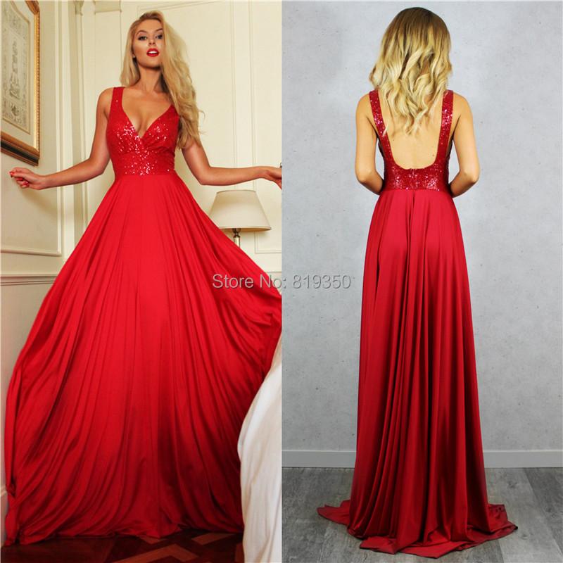 d4043a9a9 Vestidos de noche largos rojos 2016 - Vestidos formales
