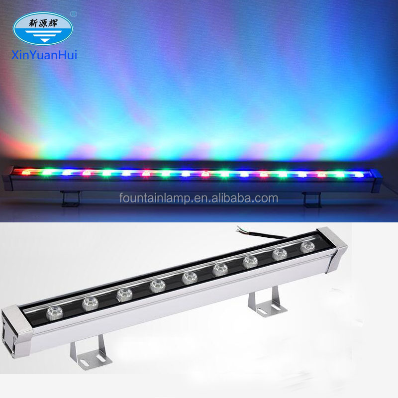 Brightest led wall washer Rechargeable RGB color dmx led wall wash light stage light led lighting