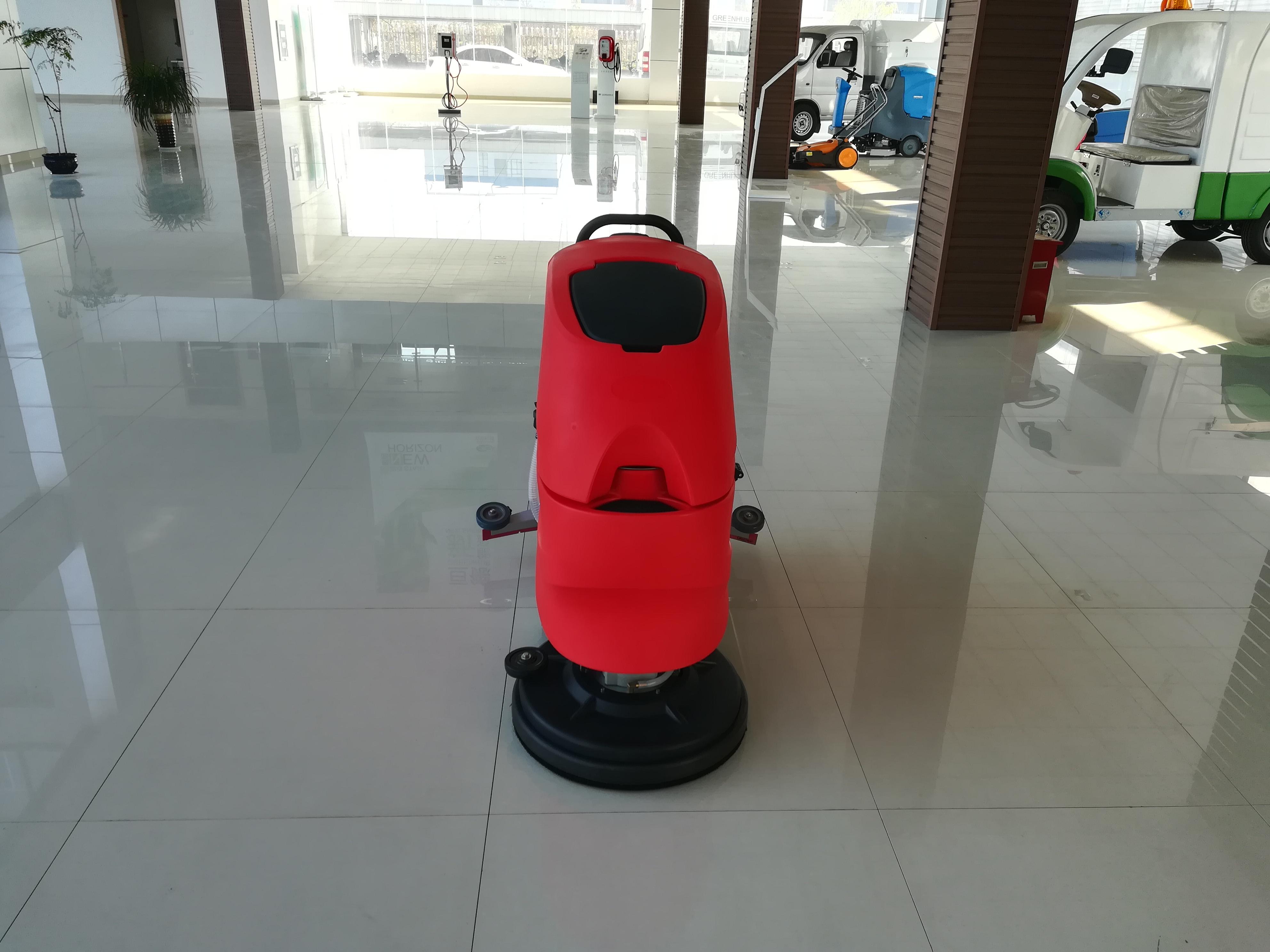 PLSON Floor Cleaner Scrubber Floor Scrubber Machine