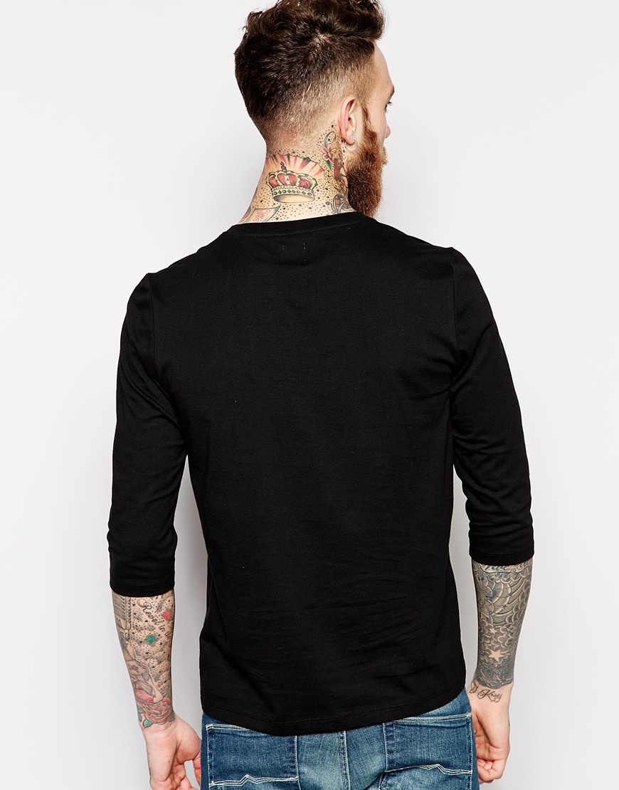 blank t shirt with notch neckcotton fabric mens casual