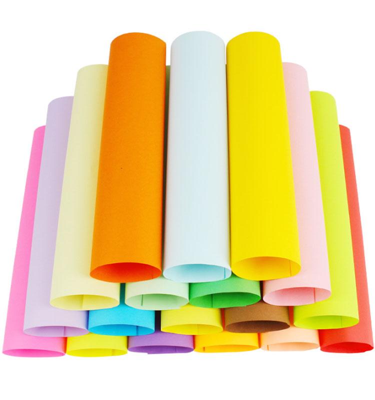 Бумага для оригами разных цветов с 7x7, 100 листов в упаковке