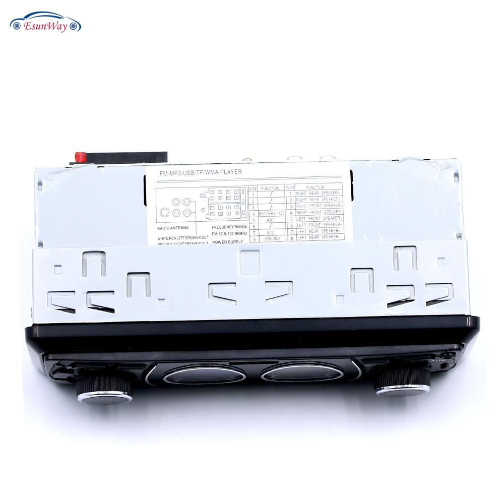 Однодиновое автомобильное стерео радио с ЖК-экраном/USB/FM Автомобильный MP3-плеер 8808