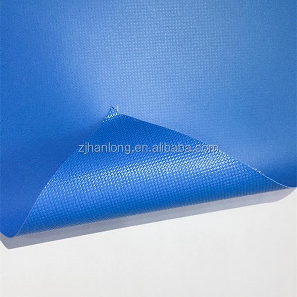 Огнеупорная 0,55 мм Брезентовая ткань с покрытием из ПВХ, сетчатая ткань из 100 полиэстера, пластиковое покрытие из ПВХ