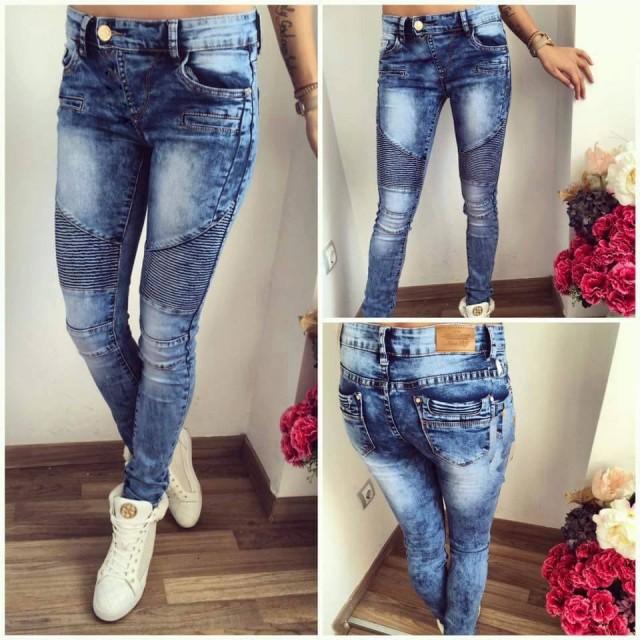 32b3a51679 13 Jeans de moda estilo 2016 venta caliente de las mujeres de alta calidad pantalones  vaqueros flacos encuadre de cuerpo entero lápiz Agujero pantalones de ...