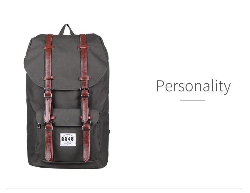 Backpack 8848 Bana: ᓂAutumn Real Polyester Genuine Oxford ๏ Big Big Travel