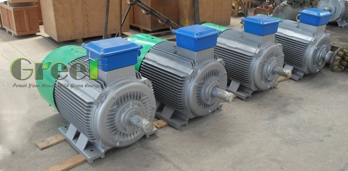 Pmg 50 Rpm Permanent Magnet Alternator Generator 10kw