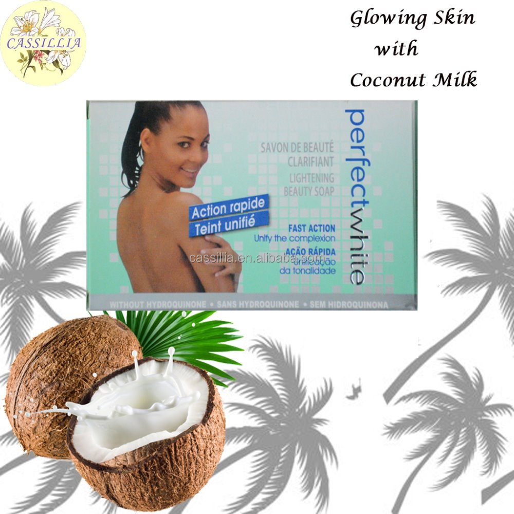 OEM WHOLE SALE FACTORY IDOLE CLASSIC BEAUTY WHITENING COCOA NUT MILK SKIN CARE SOFT SMOOTH HIGH LIGHTENING SOAP