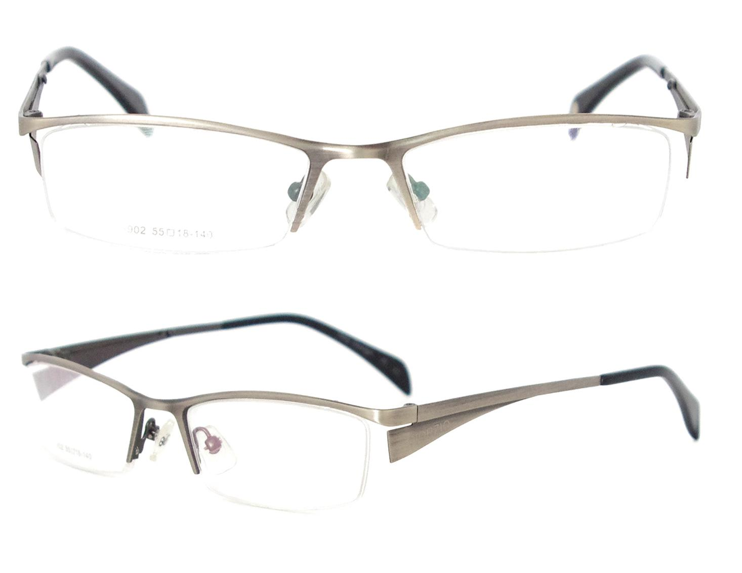f3c0f75e763 Metal Alloy 10pcs wholesale high quality half rim men framesEyeglasses Frame  Frames For Glasses .
