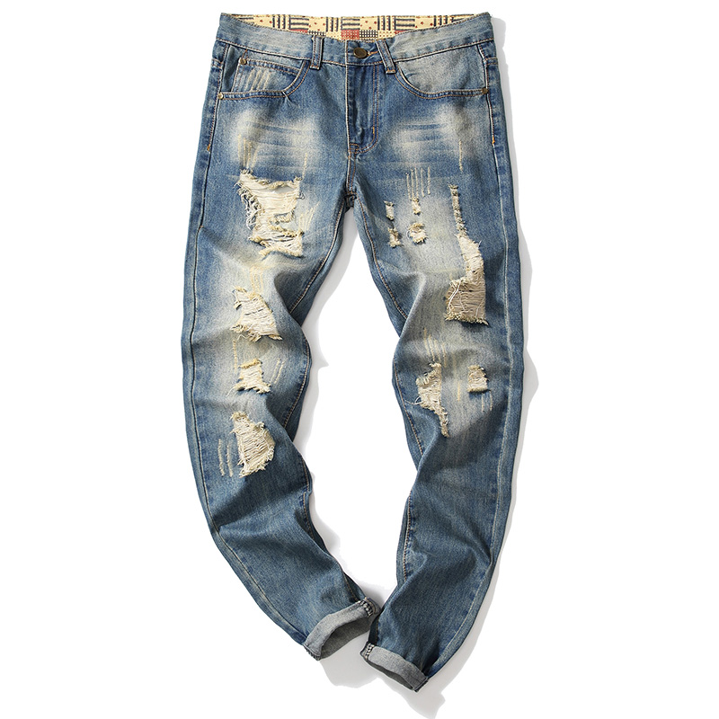 Pantalones Vaqueros Desgastados Originales Para Hombre Buy Jeans Originales Para Hombres Vaqueros De Stock Para Hombres Vaqueros Desgastados Para Hombres Product On Alibaba Com