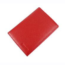 Чехол для паспорта из натуральной кожи в русском и американском стиле, мужской кожаный кошелек для карт Crazy Horse, темно-коричневый держатель д...(Китай)