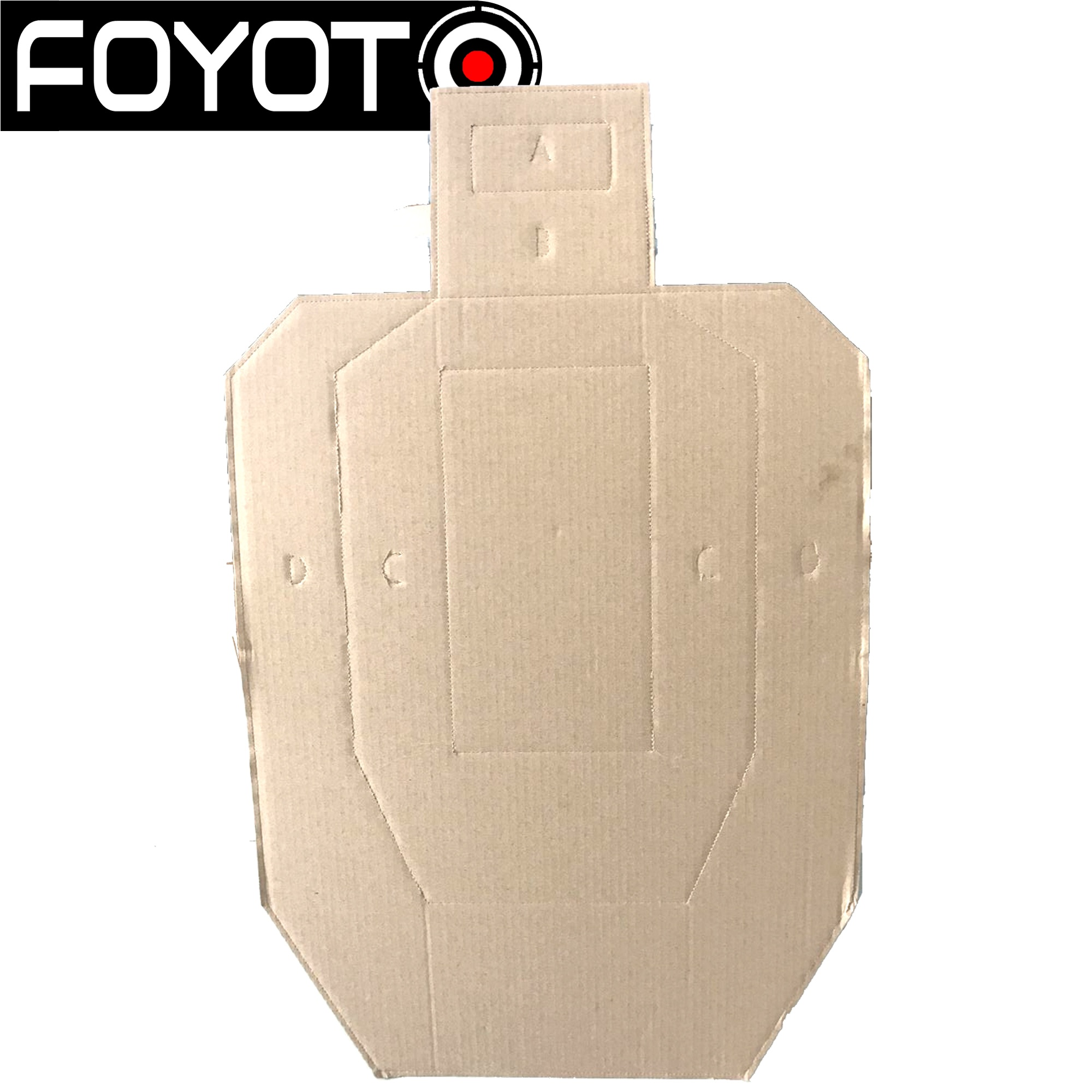 new design 2021 Training cheap IPSC/USPSA Cardboard shooting Targets games toys