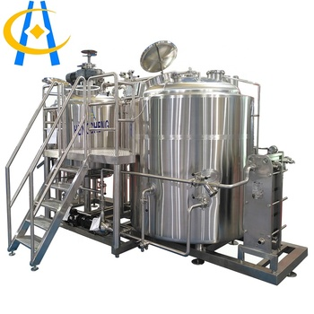 5000L hengcheng beer brewing machine equipment turnkey project